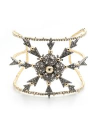 Alexis Bittar - Metallic Crystal Encrusted Snowflake Cuff Bracelet You Might Also Like - Lyst