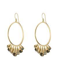 Alexis Bittar | Metallic Arrayed Stone Wire Earring You Might Also Like | Lyst
