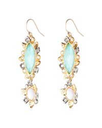 Alexis Bittar - Metallic Reverse Mosaic Mother Of Pearl Earring You Might Also Like - Lyst