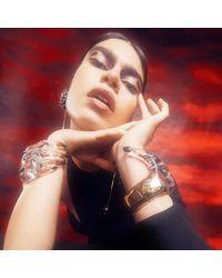Alexis Bittar - Multicolor Liquid Lucite Hinge Hand Bracelet - Lyst