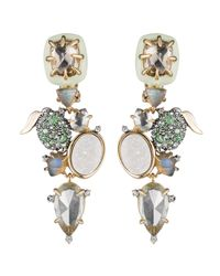 Alexis Bittar - Metallic Crystal Encrusted Lime Cluster Clip Earring You Might Also Like - Lyst