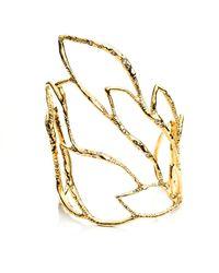 Alexis Bittar - Metallic Phoenix Crystal Embellished Rocky Cuff - Lyst