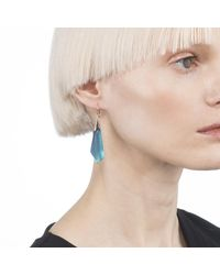 Alexis Bittar - Blue Faceted Wire Earring - Lyst