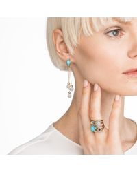 Alexis Bittar - Multicolor Crystal Encrusted Dangling Sphere Post Earring You Might Also Like - Lyst