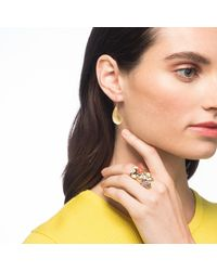Alexis Bittar - Multicolor Sculptural Stone Cluster Cocktail Ring - Lyst