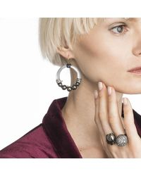 Alexis Bittar - Gray Crystal Accented Pearl Wire Earring You Might Also Like - Lyst