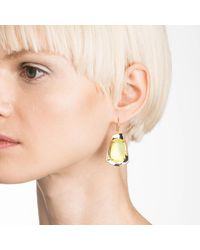 Alexis Bittar - Metallic Liquid Gold Lucite Wire Earring You Might Also Like - Lyst