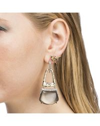 Alexis Bittar | Multicolor Rocky Buckle Post Earring You Might Also Like | Lyst