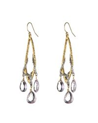 Alexis Bittar - Metallic Maldivian Tear Earring With Pink Amethyst You Might Also Like - Lyst