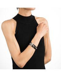 Alexis Bittar - Multicolor Vanitas Leather Buckle Hinge Bracelet - Lyst
