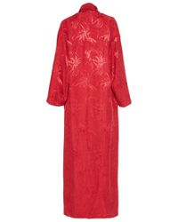 Alice + Olivia - Red Ruby Kalena Draped Kaftan - Lyst