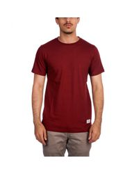 Norse Projects - Red Niels Basic T-shirt for Men - Lyst