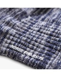 Norse Projects - Blue Bjarki Blend for Men - Lyst