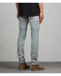AllSaints - Blue Iredell Rex for Men - Lyst