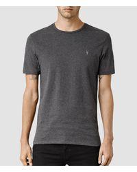 AllSaints   Gray Brace Tonic Crew T-shirt Usa Usa for Men   Lyst