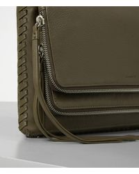 AllSaints - Black Club Crossbody Usa Usa - Lyst
