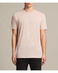 AllSaints | Pink Famera Crew T-shirt for Men | Lyst