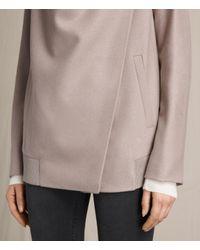AllSaints Multicolor Lora Rib Jacket Usa Usa