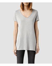 AllSaints | Gray Malin Silk T-shirt Usa Usa | Lyst