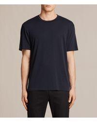AllSaints | Blue Mars Crew T-shirt for Men | Lyst