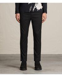 AllSaints Black Mavis Trouser for men