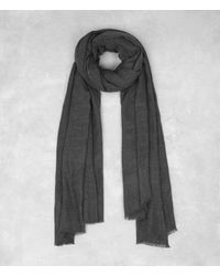 AllSaints | Gray Maxim Scarf Usa Usa for Men | Lyst