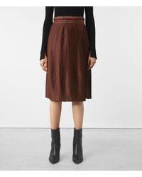 AllSaints   Multicolor Merin Skirt   Lyst