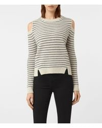 AllSaints | Multicolor Mull Sweater Usa Usa | Lyst