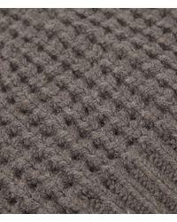 AllSaints - Brown Tornn Beanie Hat - Lyst