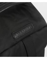 AllSaints - Black Kansai Rucksack Holdall for Men - Lyst