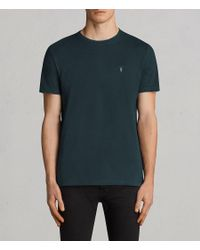 AllSaints - Blue Laiden Tonic Crew T-shirt for Men - Lyst