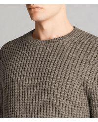AllSaints - Multicolor Kee Crew Sweater for Men - Lyst