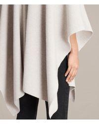 AllSaints - White Nargo Wrap Shawl - Lyst
