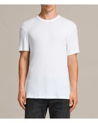 AllSaints - White Kurtise Crew T-shirt for Men - Lyst