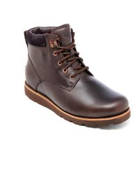 Ugg - Brown Men's Seton Tl Waterproof Leather Lace Up Boots for Men - Lyst