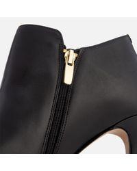 Clarks - Black Women's Dinah Spice Leather Shoe Boots - Lyst