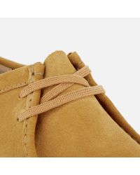 Clarks - Natural Men's Wallabee Shoes for Men - Lyst