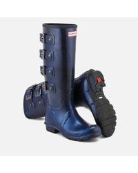Hunter - Blue Original Mercury Starcloud Tall Wellies - Lyst