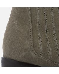 Dune - Brown Women's Peter Suede Heeled Ankle Boots - Lyst