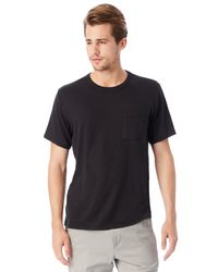 Alternative Apparel | Black Keeper Vintage Jersey Pocket T-shirt for Men | Lyst