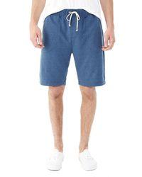 Alternative Apparel | Blue Triple Double Eco-mock Twist Shorts for Men | Lyst