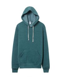 Alternative Apparel - Green Challenger Eco-fleece Pullover Hoodie for Men - Lyst