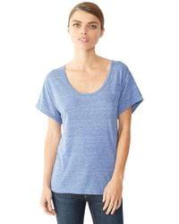 Alternative Apparel - Blue Dreamer Eco-jersey T-shirt - Lyst