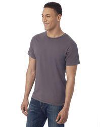 Alternative Apparel Multicolor Heritage Garment Dyed Crew T-shirt for men