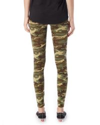 Alternative Apparel - Green Go-to Printed Spandex Leggings - Lyst