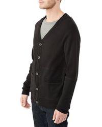 Alternative Apparel - Black Letterman Cashmere Blend Cardigan Sweater - Lyst