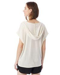 Alternative Apparel - White Sleeveless Eco-jersey Poncho - Lyst