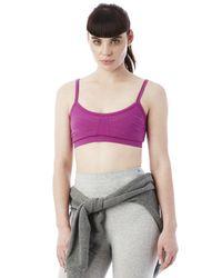 Alternative Apparel | Purple Show It Off Stretch Bralette | Lyst