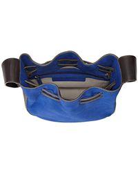 Halston Heritage - Blue Bianca Medium Drawstring Handbag - Lyst