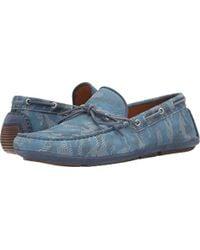 Aquatalia - Blue Aquatalia Blake Slip-on Loafer for Men - Lyst